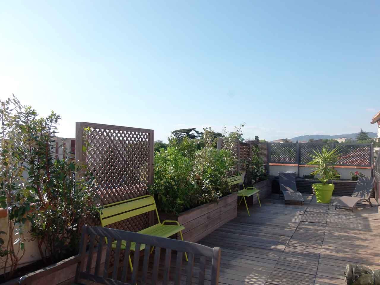 Paysagiste marseille lulu jardine - Terrasse jardin londrina quadra marseille ...